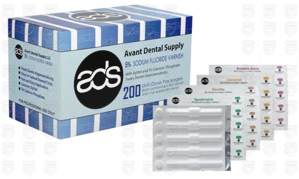 تصویر وارنیش فلوراید سینگل دوز 0.5 میل Avant Dental