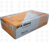 تصویر دستکش لاتکس بدون پودر SPA مالزی کارتن 100 عددی