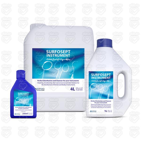 تصویر محلول ضدعفونی کننده ابزار سارفوسپت  اینسترومنت 4 لیتری