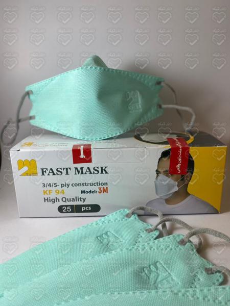 تصویر ماسک معطر سه بعدی 5 لایه  KF94 [اصلی] با رایحه نعنا